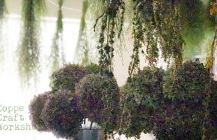 紫陽花のドライフラワー