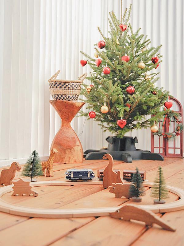 イケアで購入したクリスマスツリー