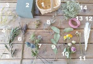 花材一覧の写真