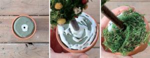 植木鉢との合体